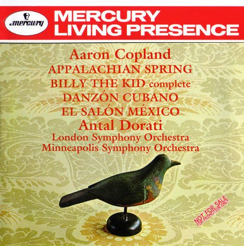 Aaron copland appalachian for Aaron copland el salon mexico